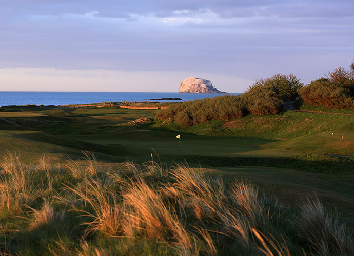 North Berwick Golf Club (West Links), North Berwick [011-44-1620-895040, northberwickgolfclub.com]: East of Edinburgh sits this fabled links -- at least in architecture circles. In terms of original holes and pure fun, 68th-ranked North Berwick has few peers.