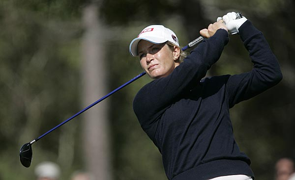 Suzann Pettersen won five times this season. She finished tied for sixth on Sunday at eight under.