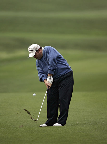 "9. Craig Parry                       	They call him ""Popeye"" for his bulging forearms, but that's because nobody has thought of a cute moniker for his looping, over-the-top chop at the ball. Johnny Miller famously remarked that Ben Hogan ""would have puked"" if he'd seen Parry swing."