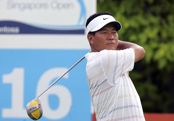 K.J. Choi shot a three-under 68 and finished two strokes off the lead.