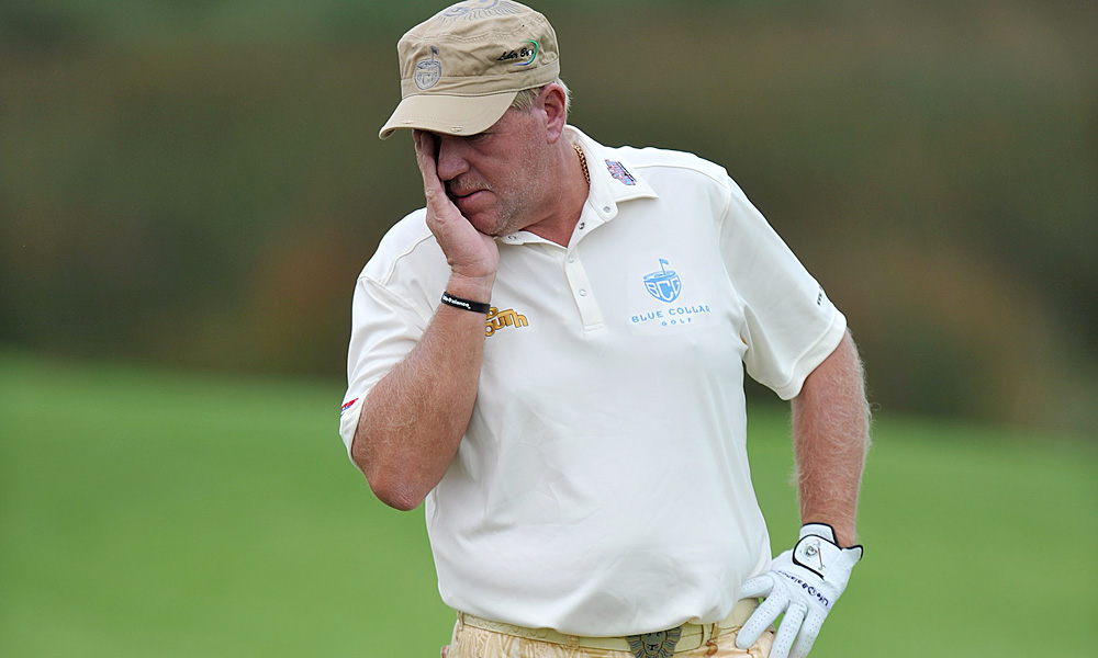 John Daly is the closest thing that golf has to a Turkey of the Century, but this may be his last year on this list--simply because he's running out of tournaments that are willing to let him play. In fact, he may be running out of whole continents. Daly has always had a certain flair when it comes to withdrawing from tournaments, and his flameout at this year's Australian Open was no different, with Long John packing it in after dunking SEVEN balls into the water hazard on the 11th hole. Daly's invitation to the Australian PGA Championship (played two weeks later) vanished just as quickly.