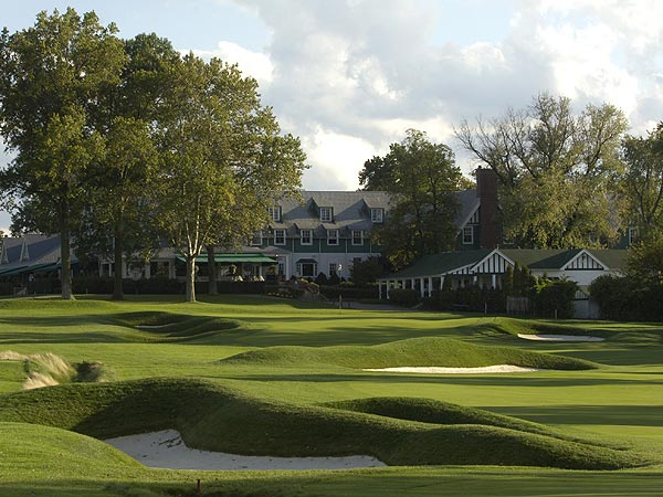 3. Oakmont Country Club, No. 18                       U.S. Open Championship                       Par 4, 4.602 scoring average