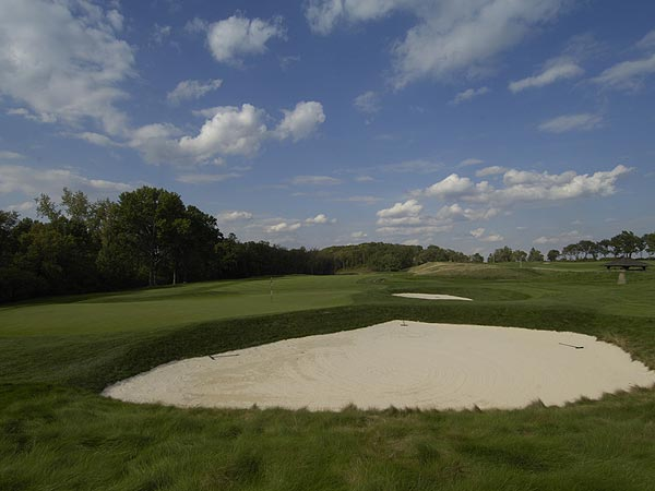 16. Oakmont Country Club, No. 7                       U.S. Open Championship                       Par 4, 4.430 scoring average