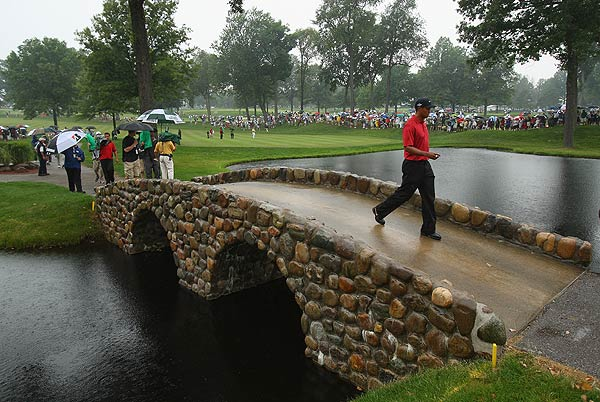 15. Firestone Country Club (South Course), No. 4                     Bridgestone Invitational                     Par 4, 4.432 scoring average