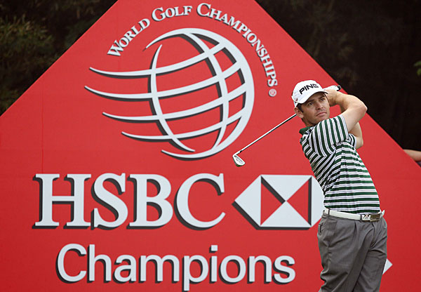 Louis Oosthuizen is in second place after a bogey-free 68.