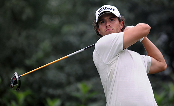 Scott birdied 18 to finish at six-under par.