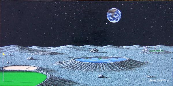 """Lunar Moon"" by Snake Jagger                       Available for sale via the artist. Visit SnakeJagger.org for more details."