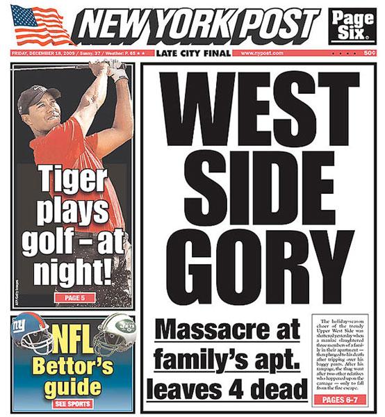 New York Post — December 18, 2009