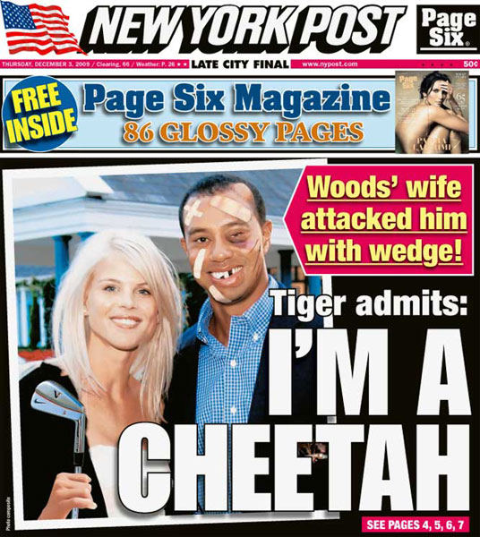 New York Post — December 3, 2009