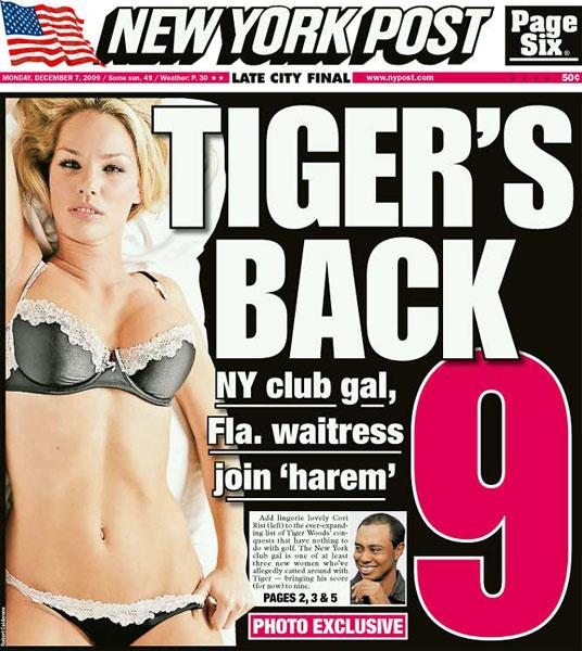 New York Post — December 7, 2009