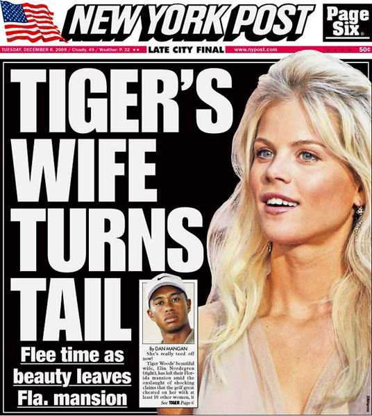 New York Post — December 8, 2009
