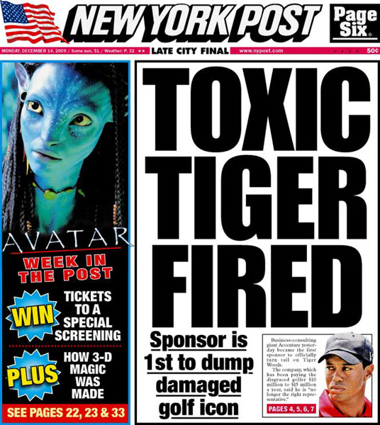 New York Post — December 14, 2009