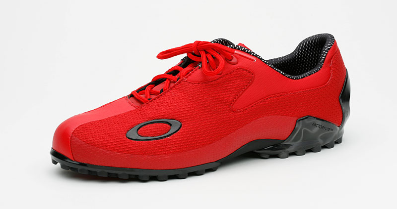 Lightweight Champ: Oakley's Cipher is the lightest real golf shoe on earth. It's 9.5 ounces, fashionable and has no spikes -- just strips of high-tech gripping material on the soles. Cutting edge and so cool.