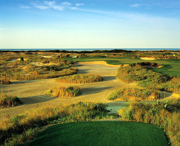 No. 4: The Ocean Course at Kiawah Island Resort; Kiawah Island, S.C.                       Designer: Pete Dye