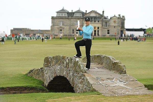 After 24 tries, Ochoa finally won her first major championship at the 2007 Women's British Open. It was the first women's professional tournament to be held on the Old Course at St. Andrews.