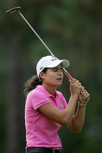 She missed her chance for a major again in 2007 at the U.S. Women's Open. Ochoa had been through more than 20 majors without a victory.