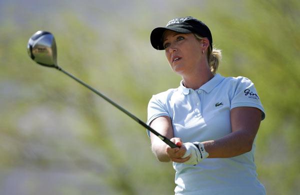 U.S. Open champ Cristie Kerr finished six shots off the lead.