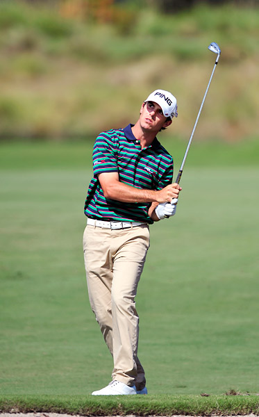 Billy Horschel shot a six-under 64 and trails by one.