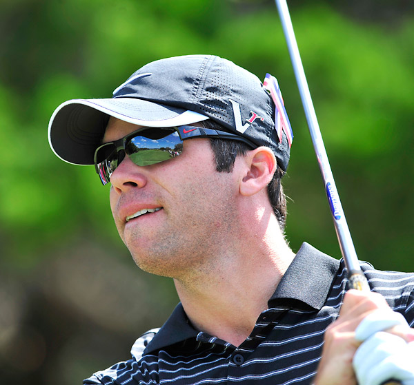 Paul Casey birdied the last to finish at one under.
