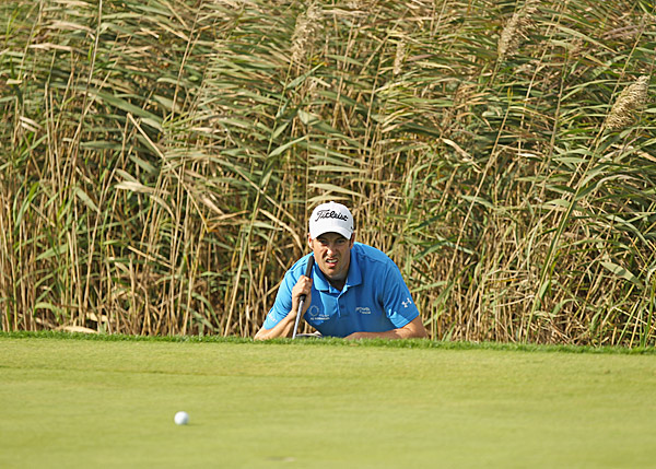 shot a two-under 70 to move to six under for the tournament, seven strokes back of Lafeber.