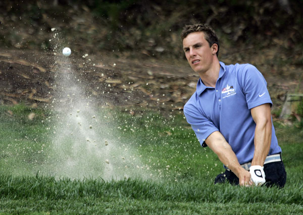 7. Jamie Lovemark, 19, U.S.                     The Stats: The 6-foot-4 Californian, who plays at USC, had a breakout June, winning the NCAA title as a freshman and then losing the Nationwide Tour's Rochester Area Charities Showdown in a playoff as an amateur. He's three for three in making cuts on Tour, with his best finish a 39th at this year's Buick Invitational, where he had a first-round 66.                     The Skinny: Could've easily turned pro after his hot run this summer, but he'll stay in school until at least next summer.