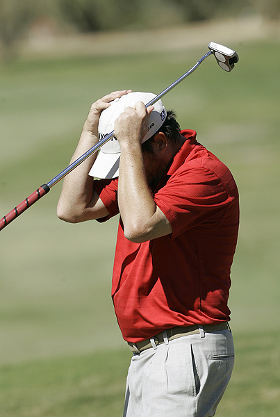 Tim Clark's final round, which included two double bogeys, left him at four under par.