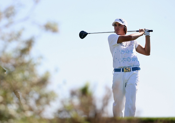 Fowler, 20, is playing in just his second event as a pro.
