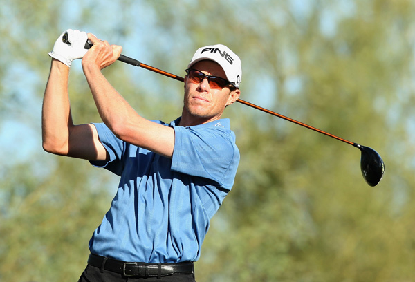 made an eagle, three birdies, a bogey and a double bogey for a two-under 68.