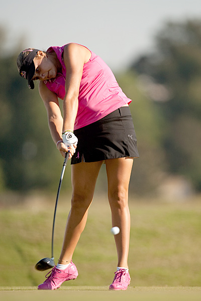 Lexi Thompson shot four under in her second round, moving into a tie for 15th place.