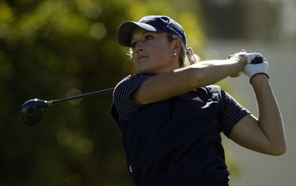 Gulbis earned her LPGA card in 2001 after finishing tied for third at qualifying school.