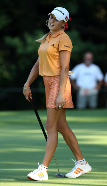 Gulbis nearly won her first career LPGA tournament in 2006. She shot a final-round 65 at the Jamie Farr Owens Corning Classic but lost on the third playoff hole to Mi Hyun Kim.