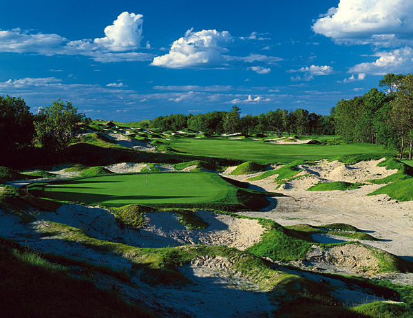 Whistling StraitsThree of the four courses at Wisconsin's American Club made GOLF Magazine's Top 100 Courses You Can Play list, making Kohler, Wisc. a must-see destination for any Pete Dye enthusiasts.                                          The Straits Course is ranked No. 3 in GOLF Magazine's Top 100 Courses You Can Play; the River Course at Blackwolf Run is ranked No. 12; and the Irish Course is ranked No. 68.