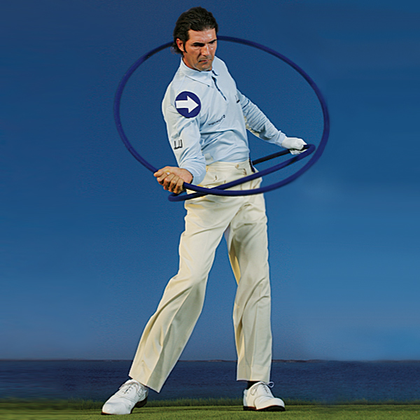 Welcome to the slot!                                              Pre-Impact: Your left hip clears to make room for your right side to spin through to the target.