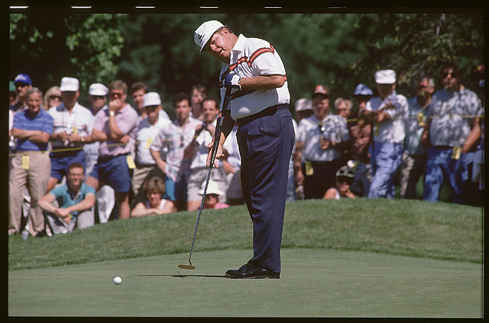 "1989: The golf world salutes the Sarge, Orville Moody, who wins the U.S. Senior Open while relying on a long putter. Later that summer, the USGA approves the use of long putters. Says USGA executive director David Fay: ""Putting is a very individualized art form. To inhibit a golfer's individual style would take some fun out of the game."""