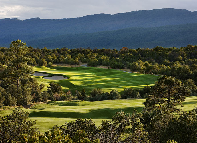 3. Paa-Ko Ridge Golf Club [No. 31], Sandia Park, N.M.; $50-$117, paakoridge.comSituated between 6,500 and 7,000 breathtaking feet on the eastern side of the Sandia Mountains, 25 minutes from Albuquerque, Paa-ko dishes out a series of option-laden desert jewels that tumble through junipers, cedars and pines, forming a surprisingly green backdrop to many holes. In prime time of April to October, rates are a surprisingly green-saving $92 on weekdays and $62 after 2 pm.