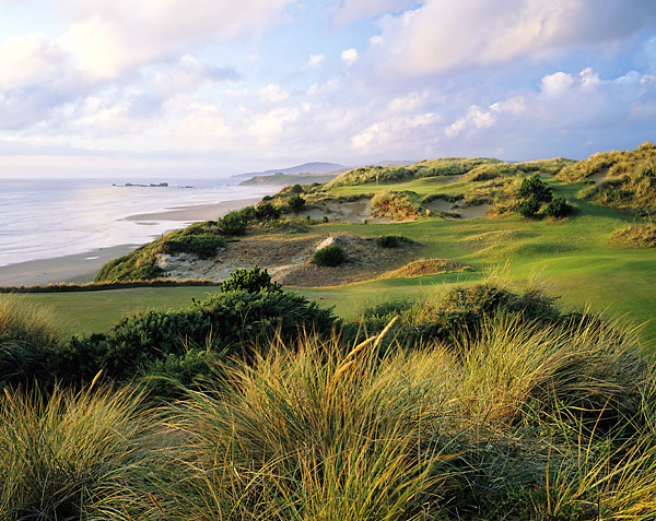 GOLF Magazine's panel of golf experts has ranked the top 100 public-access courses in the United States. Here is a look at the top 10.                                              No. 1: Pacific Dunes; Bandon, Ore.                       Designer: Tom Doak