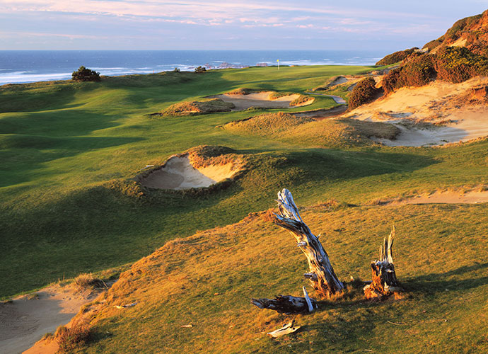 8. Pacific Dunes, Bandon, Ore., U.S.: The highest ranking American links, a 2001 Tom Doak design, checks in as the 20th ranked course in the world. It fits so majestically into its billowing terrain, it looks like it's been there 100 years. Scattered blow-out bunkers, gigantic natural dunes, smartly contoured greens and Pacific panoramas are headliners.