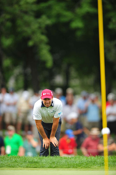 """""""Obviously it was a disappointment for me,"""" Harrington said of his T10 finish."""