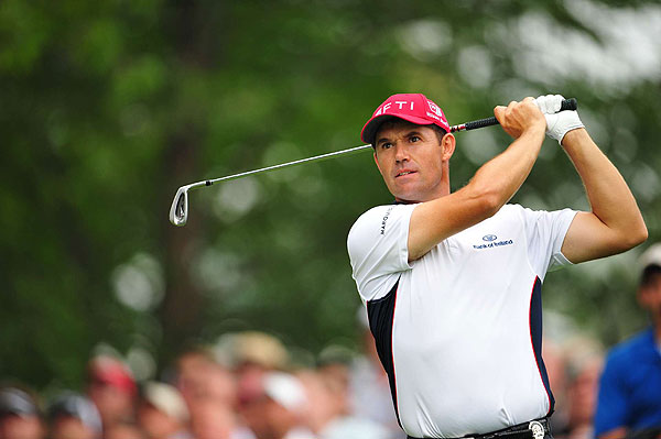 fought his way to a 69 on Saturday to move back into contention after a  disappointing 73 Friday.