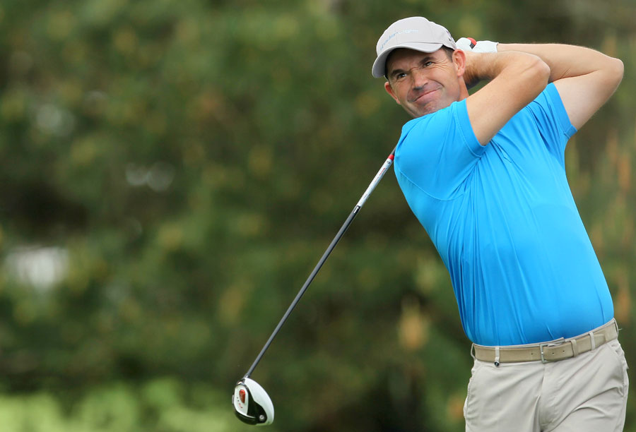 Padraig Harrington made seven birdies and one bogey for a 66.