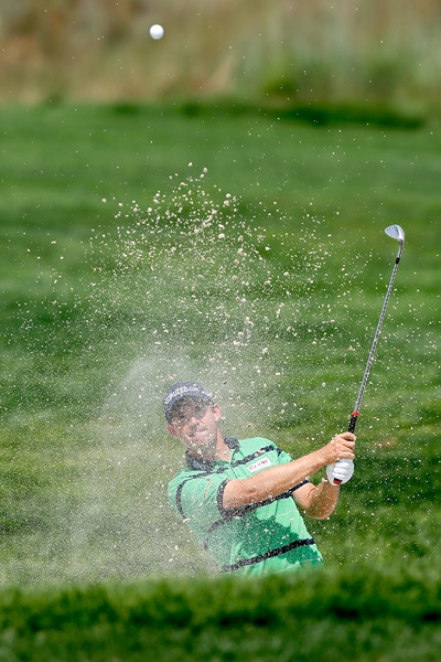 Padraig Harrington had the lead after the first round, but he struggled to a 75 on Friday.