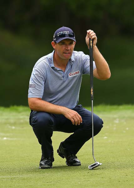 """I think it's bad for the game of golf. [But] I'm going to use everything, if something's going to help me for the next three and a half years, I'm going to use it.""                     --Padraig Harrington on why he's using an anchored putter even though he believes it should be banned."