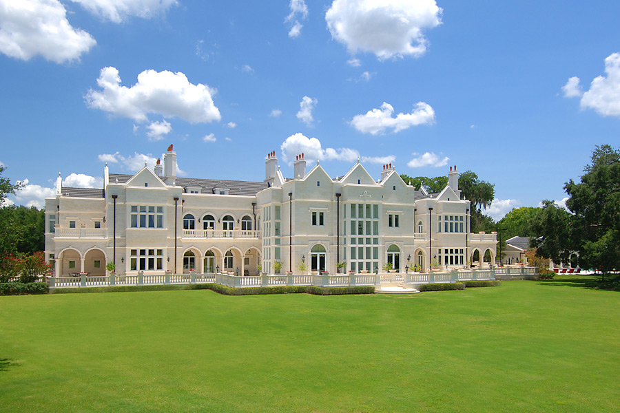 Inspired by a 17th century British royal palace, this 10-bedroom, $14.9 million Tampa home is located on the Avila Golf & Country Club.