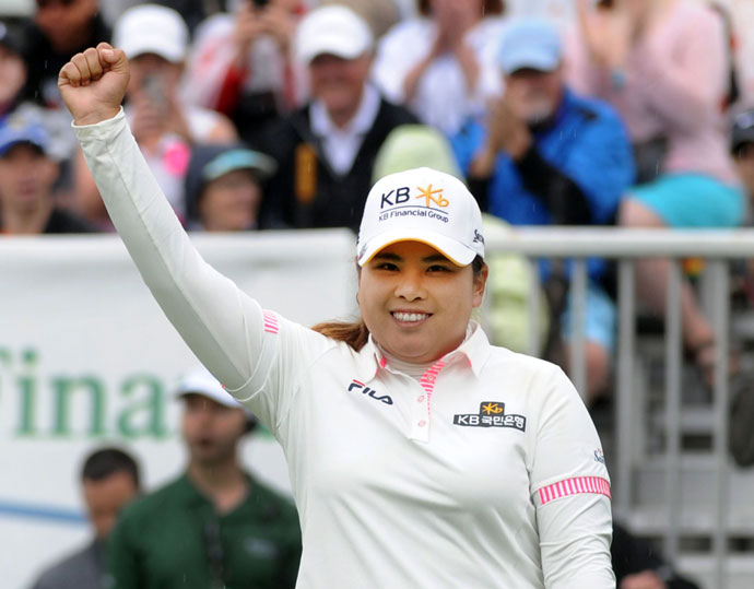 Park's first major victory was at the 2008 U.S. Women's Open where she defeated Helen Alfresson by four strokes.