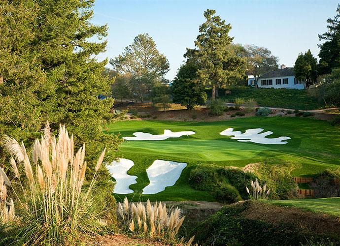 Pasatiempo Golf Club Santa Cruz, Calif.; Alister MacKenzie (1929) -- $230-$262, pasatiempo.com