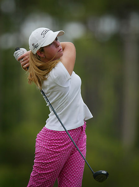 Paula Creamer, 16, won the AJGA Rolex Girls Junior Championship in 2003.