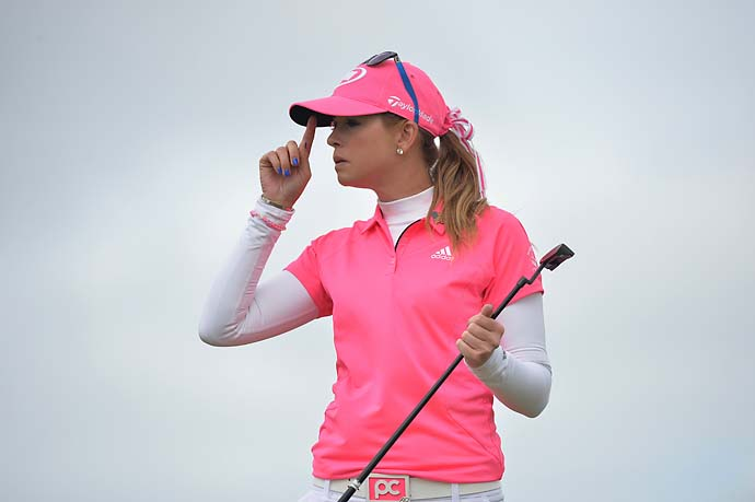 """I do want to have a family and I do want to have kids, and it's hard to try to be the No. 1 player in the world and to balance out that other personal side. But when that time comes, we'll have to figure it out.""                       --Paula Creamer, 27, on whether she thinks she'll be playing pro golf at age 50."
