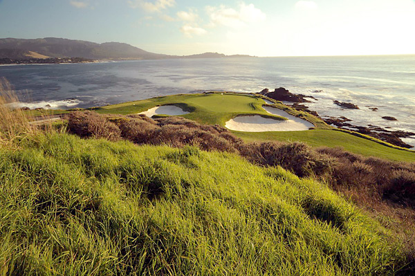 No. 2: Pebble Beach Golf Links; Pebble Beach, Calif.                       Designers: Jack Neville and Douglas Grant