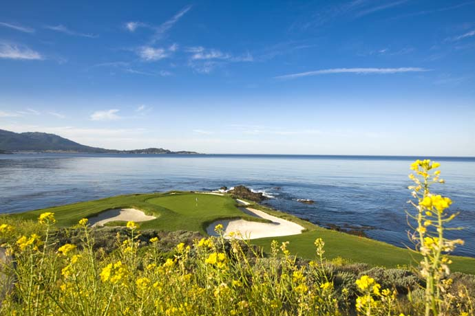 No. 10: Pebble Beach, Pebble Beach, Calif.                       (No. 7 on Golf Magazine's Top 100 Courses in the World)