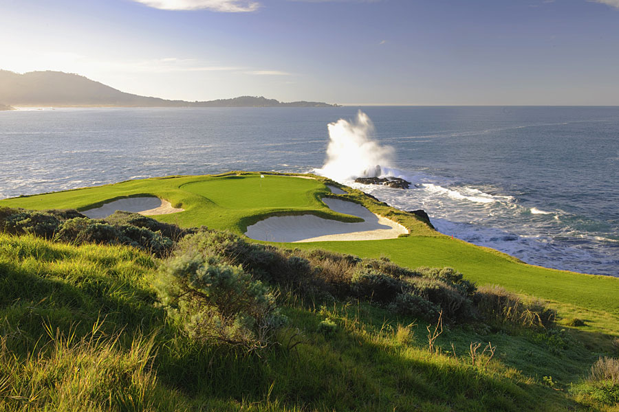 Pebble Beach Resorts; Pebble Beach, Calif.; 800-654-9300; pebblebeach.com